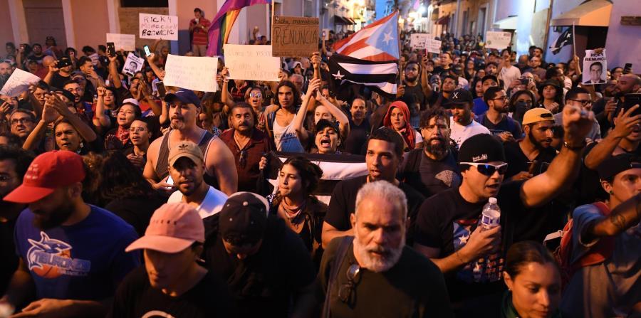 Crece el reclamo en Puerto Rico contra Ricardo Rosselló para que renuncie