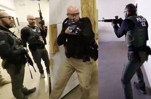 """ICE revela el """"duro"""" entrenamiento de sus agentes para las redadas contra inmigrantes"""