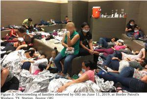 Centros de detención de inmigrantes en Estados Unidos: las fotos muestran el terrible hacinamiento