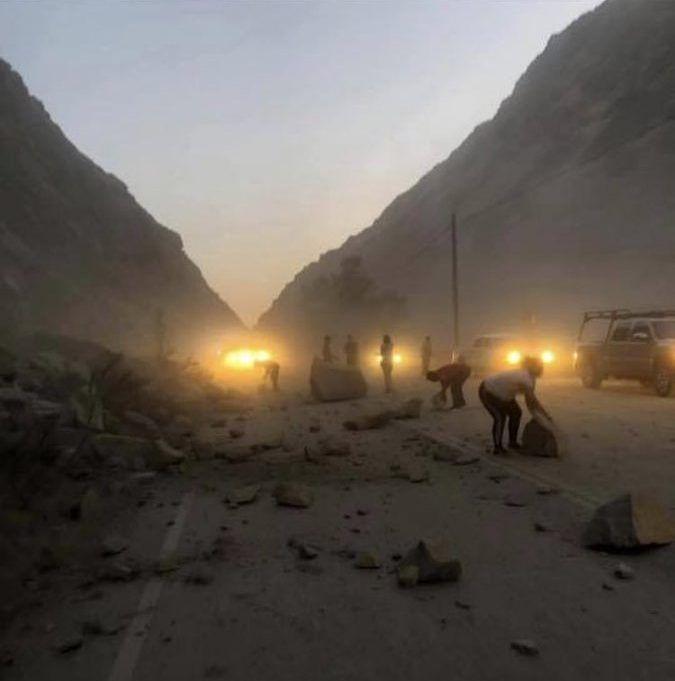Un nuevo y fuerte terremoto de magnitud 7.1 sacude Ridgecrest en California