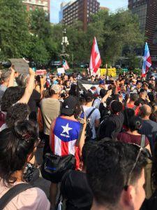 Mientras gobernador de Puerto Rico sigue sin dar la cara, las protestas continúan dentro y fuera de la Isla