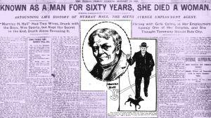 Murray Hall: la increíble historia del político neoyorquino cuyo mayor secreto fue revelado cuando murió