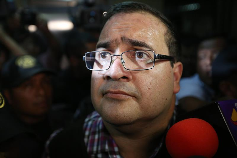 Javier Duarte entregaría pruebas en contra de Peña Nieto