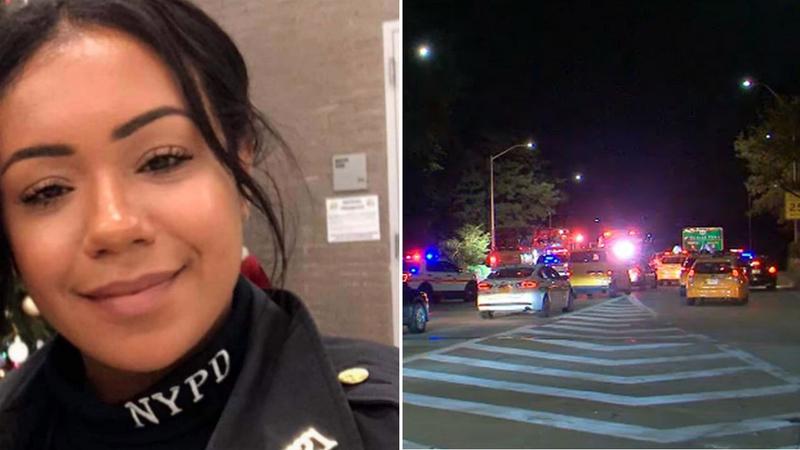 Joven policía hispana y su pasajero murieron en espantoso accidente de tránsito en Nueva York