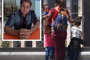 El crimen mexicano quería llevarse inmigrantes. Este pastor lo impidió y ahora es él el secuestrado