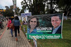 Guatemala elige en las urnas a su próximo presidente