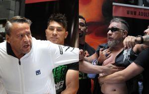 No hubo 'Pelea del Siglo' entre Alfredo Adame y Carlos Trejo; reembolsarán boletos