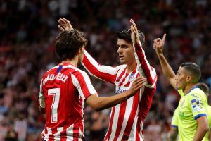 El de siempre: El Atlético de Madrid debutó con triunfo y con la misma esencia