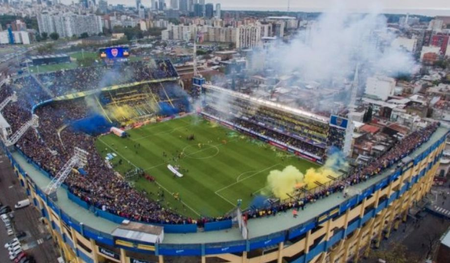 Amenaza de bomba en el estadio de Boca Juniors