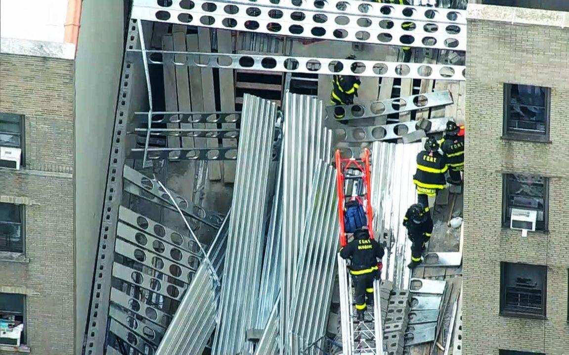 Un muerto y varios heridos graves en accidente de construcción en Nueva York