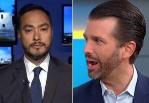 Joaquín Castro balconea a donantes de Trump en Texas y Donald Jr. compara lista con la del tirador en Ohio