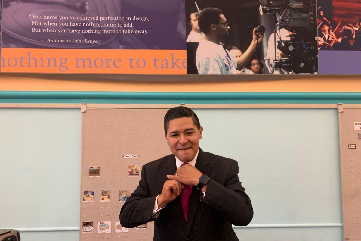 """""""Si no cambiamos las políticas los estudiantes latinos jamás van a tener oportunidades"""""""