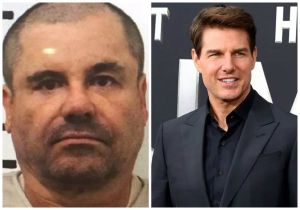 """No es broma: """"El Chapo"""" Guzmán quería que Tom Cruise lo interpretara en su película y Angelina Jolie a Emma Coronel"""