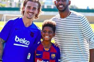 Esta estrella de la NBA visitó el campamento del Barcelona