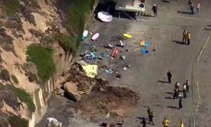 Tres mujeres de una misma familia mueren al caer sobre ellas acantilado de famosa playa californiana