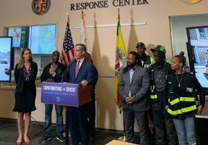 Eric Garcetti anuncia 10,000 unidades de vivienda para desamparados en Los Ángeles
