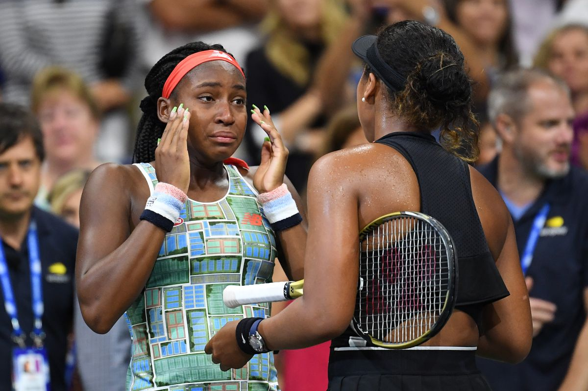 La niña prodigio Coco Gauff cae ante la número 1 Naomi Osaka en el US Open