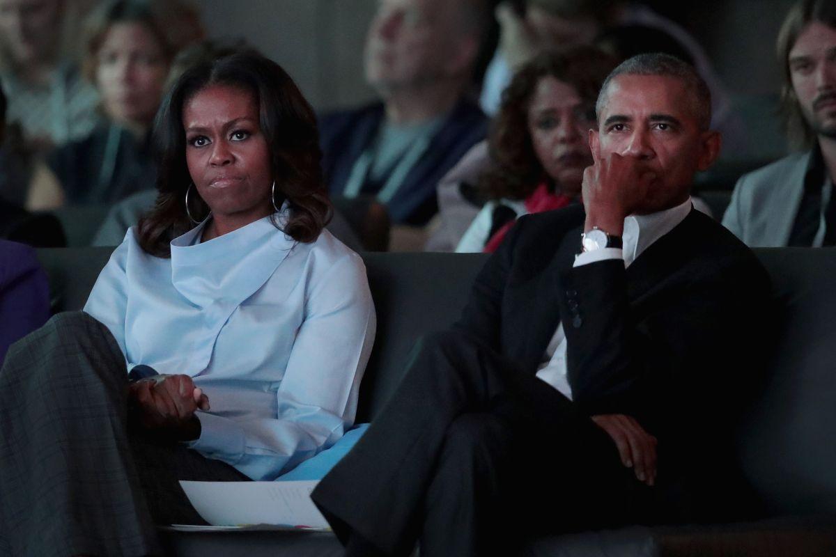 Obama descarta ser parte del gabinete de Biden por temor a Michelle
