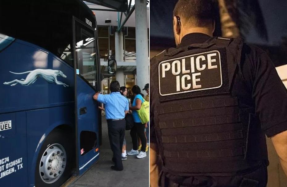 Crecen protestas contra Greyhound por redadas de ICE en autobuses