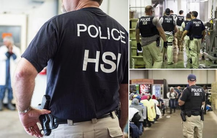 ICE procesa deportación de los 680 detenidos en gran redada, pero podría liberar a algunos inmigrantes