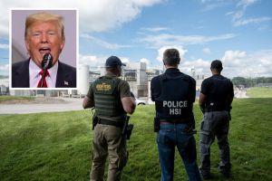 """Trump justifica las redadas de ICE: Son """"un buen freno"""" para la inmigración"""