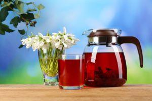 Espectaculares beneficios diuréticos, reduce hipertensión y colesterol, con agua de flor de jamaica