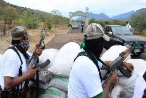 """Autodefensas: """"No nos vamos a desarmar hasta que haya condiciones"""""""