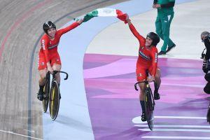 ¡Histórica dupla! Este es el nuevo récord panamericano que impuso México en ciclismo