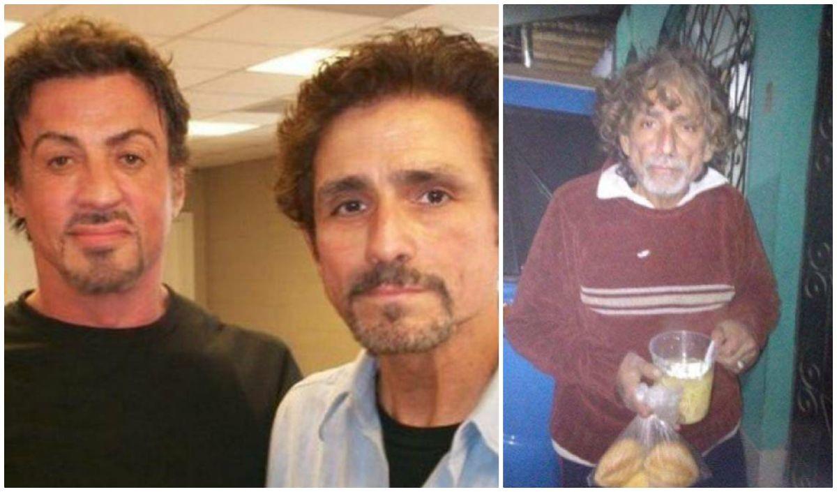 Actor de Hollywood que trabajó con Sylvester Stallone, de indigente y golpeador en las calles de Perú