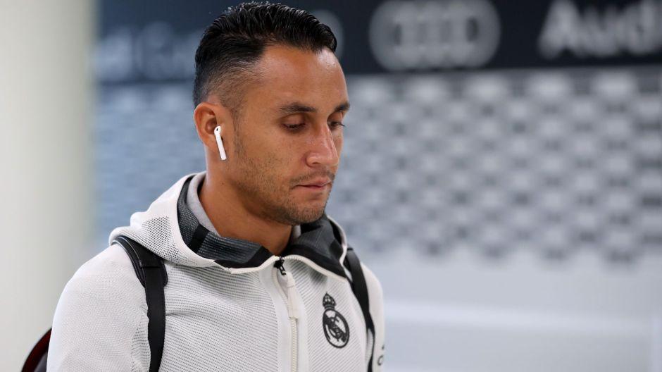 Keylor Navas no quiere saber nada del Real Madrid