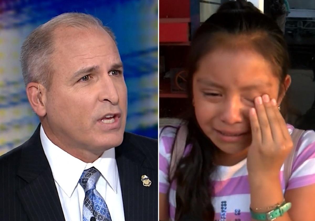 """Jefe de 'La Migra' a hija de inmigrante: """"Entiendo que esté molesta… pero su padre cometió un crimen"""""""