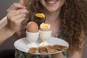 Baja de peso rápidamente y sin rebote, con la dieta del huevo cocido