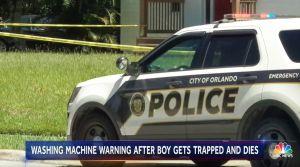 Niño muere al quedar atrapado en la lavadora de su casa