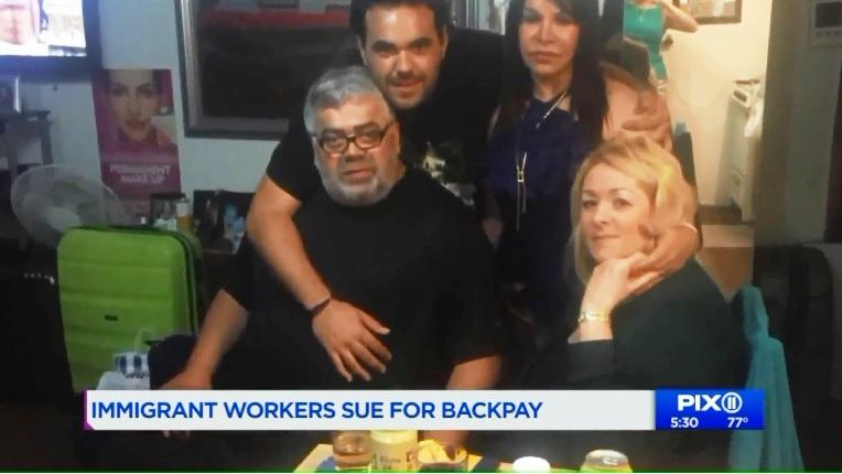 """Latinos """"explotan"""" a sus paisanos: familia inspira lucha de trabajadores tras muerte de padre en autolavado"""