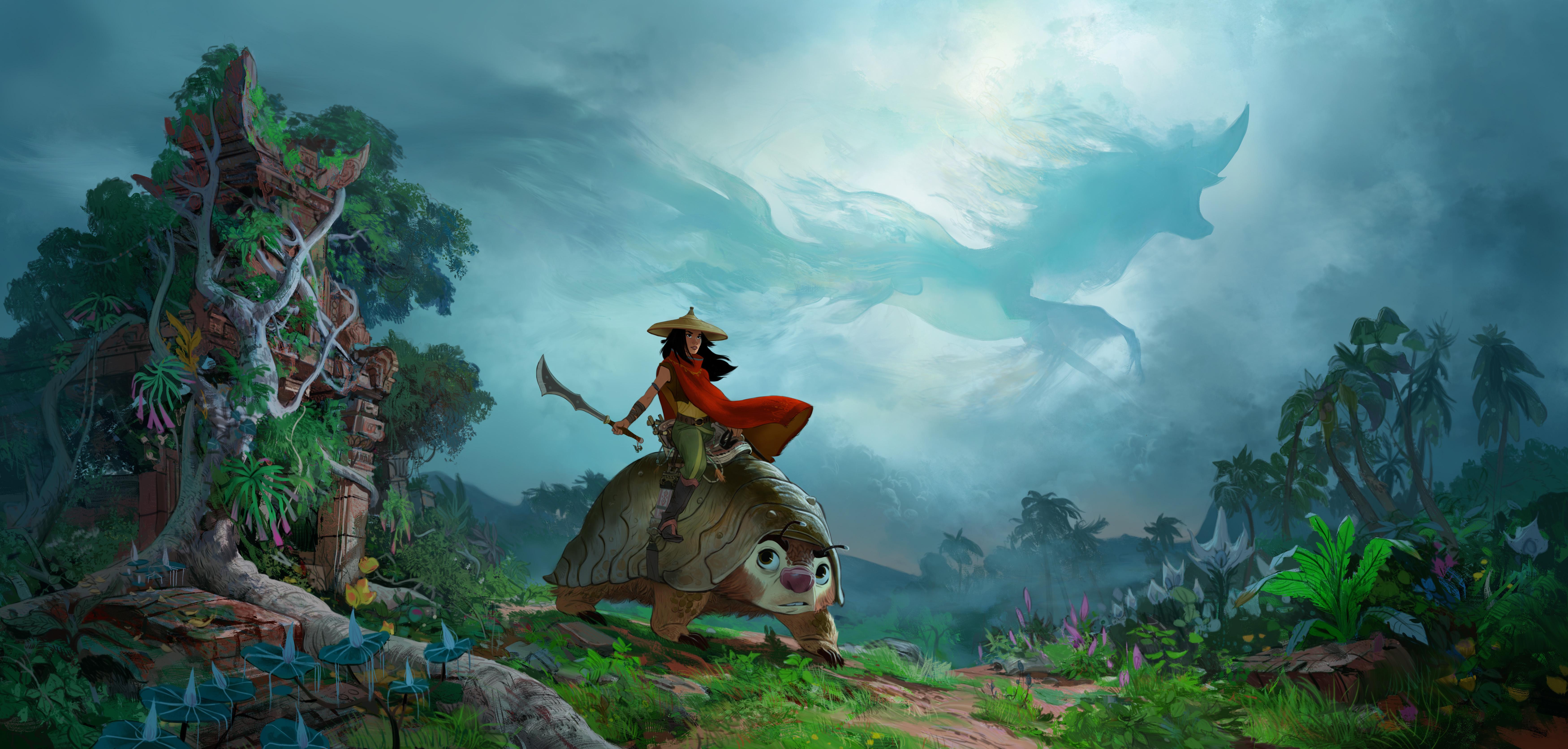 """Una imagen de """"Raya and the Last Dragon""""."""
