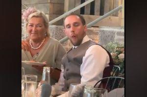 Este novio terminó ebrio en su boda y no creerás lo que le hizo su suegra