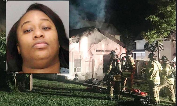 """Mujer furiosa quemó casa tras """"cita de amor"""" fallida en Nueva Jersey"""