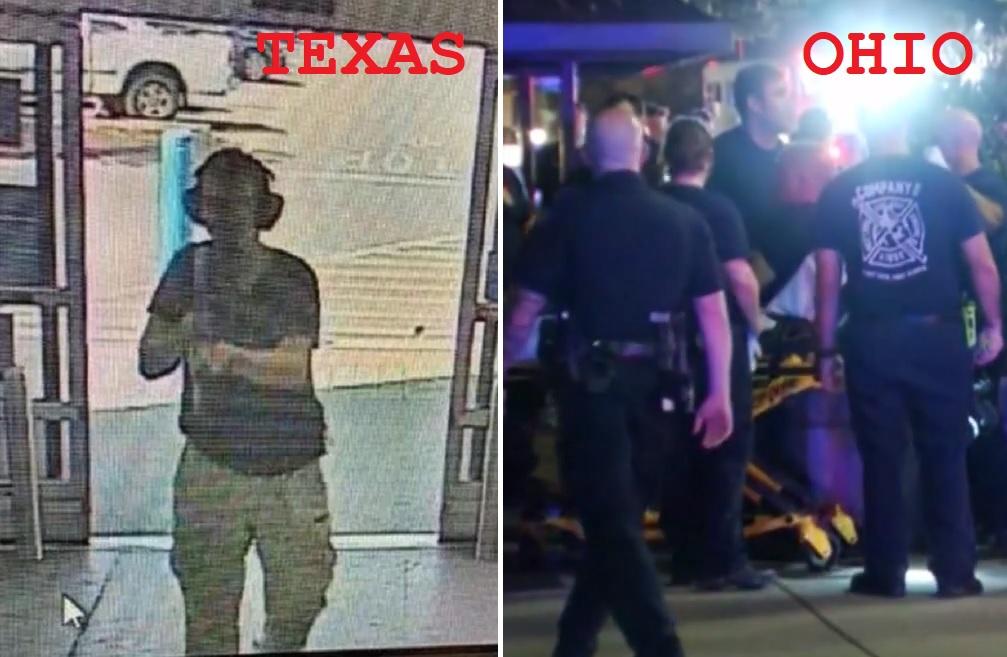 Dos tiroteos en Estados Unidos en menos de 24 horas dejan 30 muertos y 53 heridos