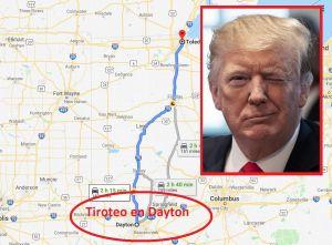 Trump desata críticas al confudir la ciudad de masacre en Ohio