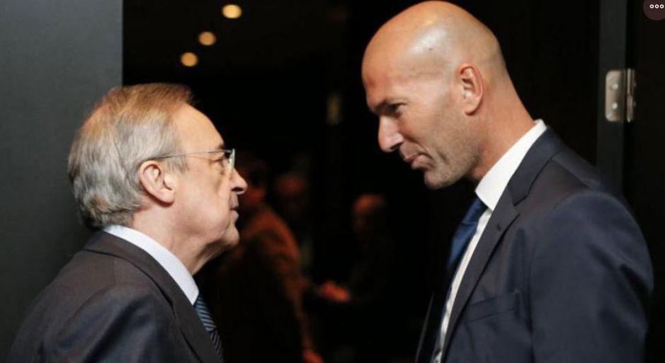 Zinedine Zidane amenaza con dejar el Real Madrid