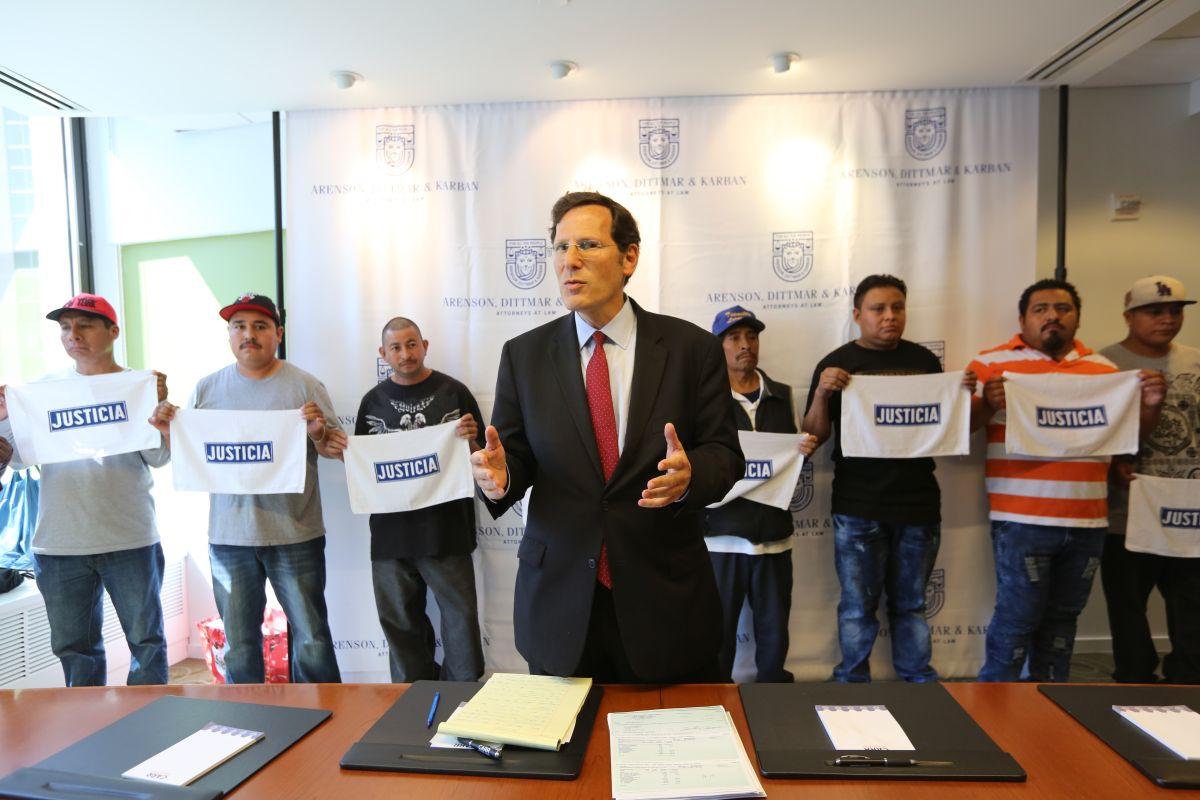 """""""Carwasheros"""" logran compensación de $9.4 millones luego de años de explotación laboral"""