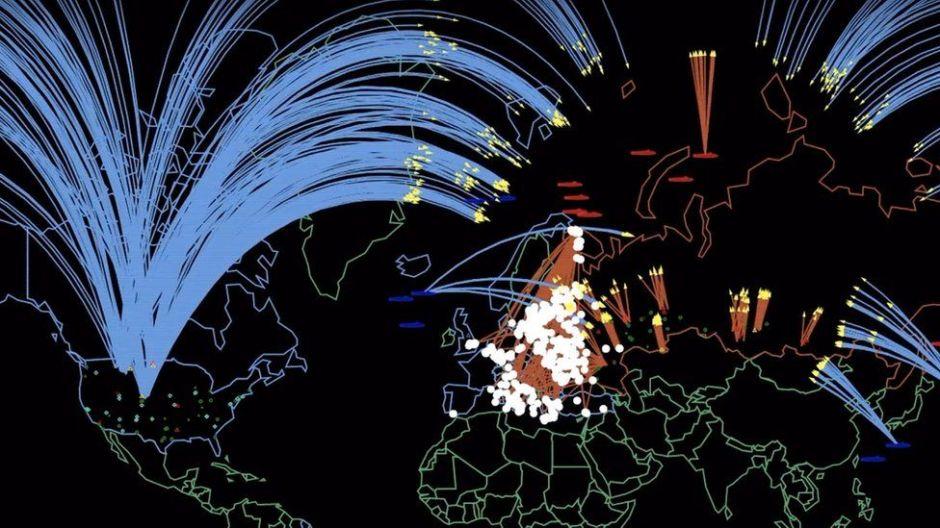 """""""34 millones de muertos"""": La devastación que causaría una guerra nuclear entre Rusia y EEUU"""