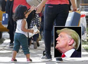 Trump exige a familiares que paguen por necesidades de inmigrantes