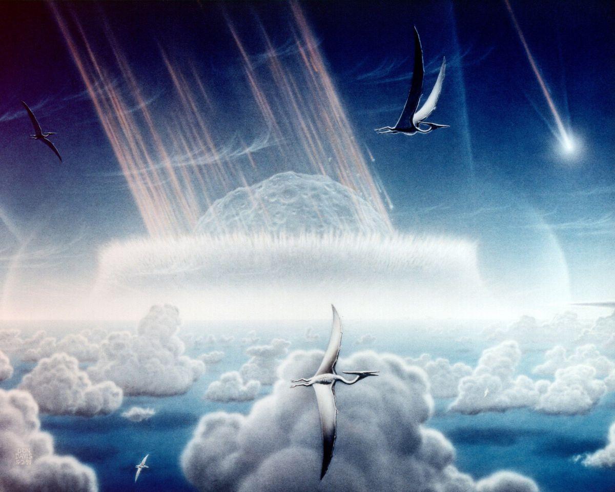 Chicxulub: hallan sensacionales pruebas de lo que hizo el asteroide que cambió la vida en la Tierra
