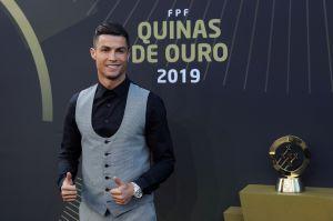 Cristiano Ronaldo manda mensaje a los niños del mundo tras ser galardonado como el Mejor Jugador de Portugal