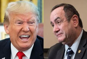 """Presidente electo de Guatemala asegura """"hablar de acuerdo migratorio"""" con gobierno de Trump"""