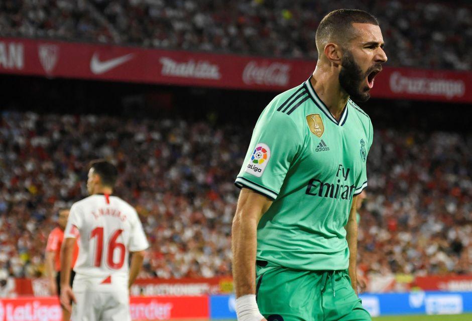 Real Madrid derrota al Sevilla de 'Chicharito' y ya es colíder en La Liga