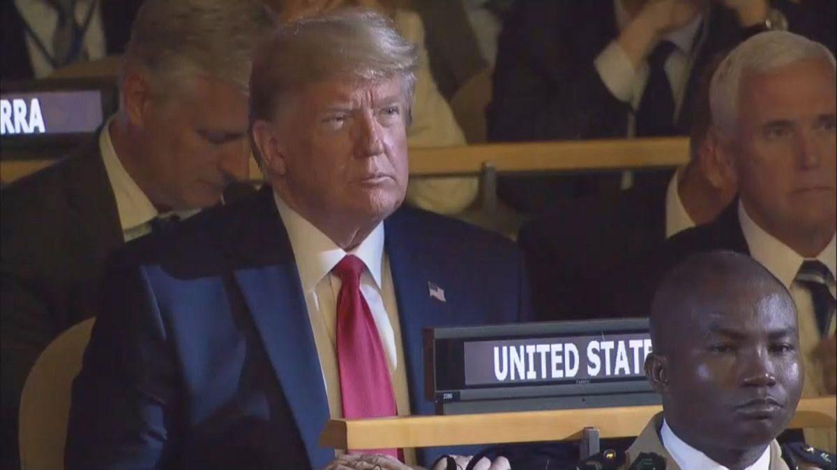 La sorpresa de Trump en la Cumbre de Acción Climática de las Naciones Unidas