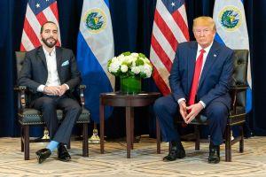 Presidente de El Salvador pide la renovación del TPS a Trump