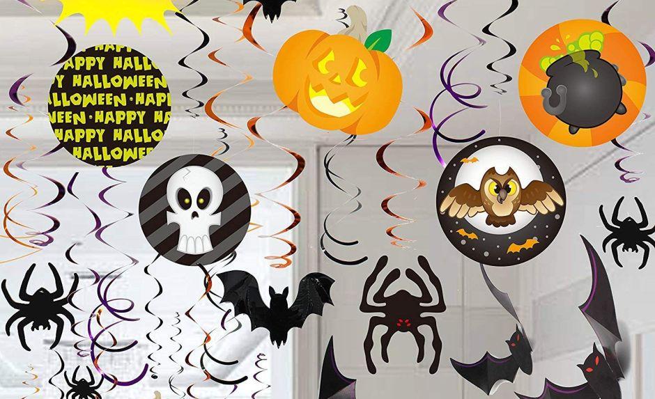 5 sets de decoración para ambientar tu fiesta de Halloween sin gastar mucho dinero
